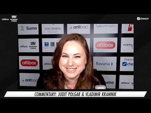 Official Norway Chess 2020 Broadcast | Round 10 | Commentary by Vladimir Kramnik and Judit Polgar