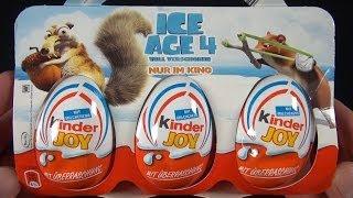 Kinder JOY - ICE AGE 4