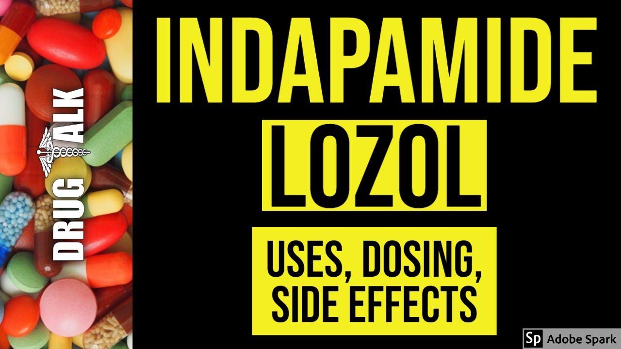 Indapamide side effects in elderly