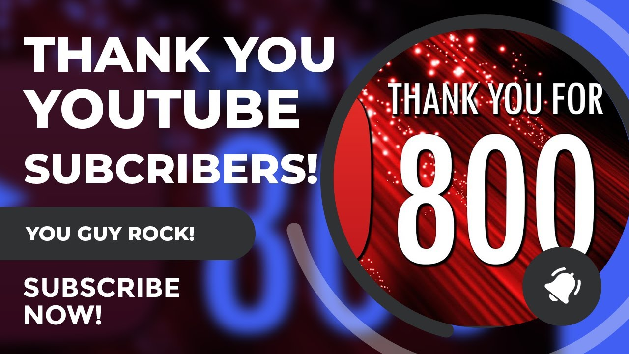 Thank To Our YouTube Subscribers From SciFiantasy