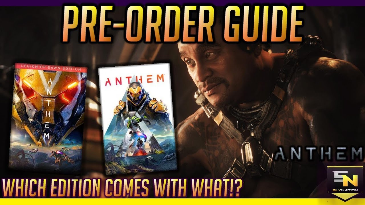 anthem legion of dawn edition pc