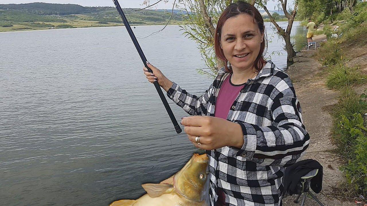 femeie care iube? te pescuitul