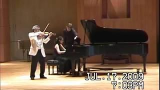 #Chin Kim #Enesco 3-1 Hiromi Fukuda piano #GMCMF 09