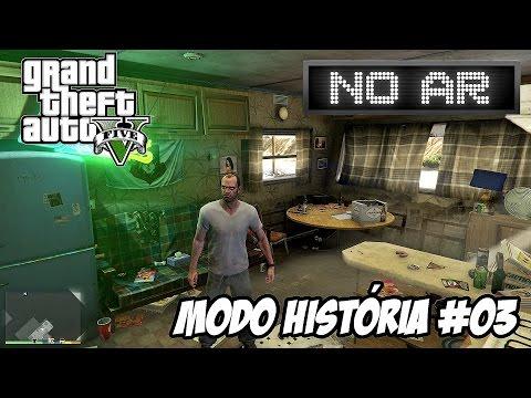 LIVE GTA V | MODO HISTÓRIA #03 - MAIS DE 400 VÍDEOS NO CANAL \o/ LIVE #11