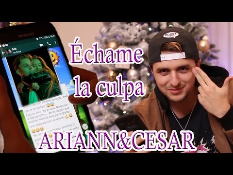 Échame La Culpa - Luis Fonsi - Cover Ariann Ft César 😘 Hermana De 10 Años De Dalas Review😂😂
