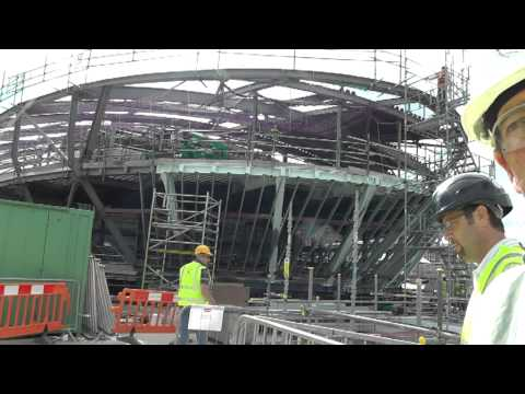 New Mary Rose Museum Site Visit - 9th August 2011