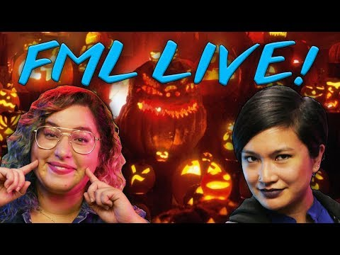 Halloween Special Event With Rachel and Sapphire // FML Live | Snarled
