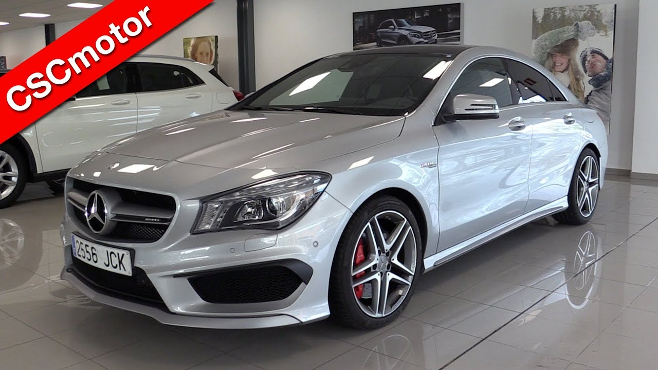 mercedes amg cla 45 2016 revisi n en profundidad y encendido youtube. Black Bedroom Furniture Sets. Home Design Ideas