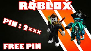 Free Roblox Pin 2019 - WORKING