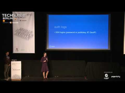 "A ""beat"" of security with the Elastic Stack, M. Sarbu & T. Golubenco, Elastic TechSummit Berlin 2017"