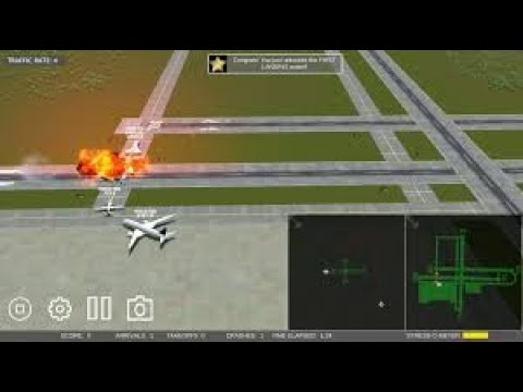 Airport Madness 3D Crashing planes... Alot!  
