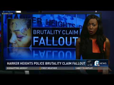 Harker Heights police brutality claim fallout