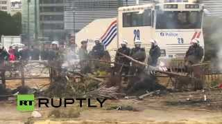 LIVE: Thousands of European farmers rally in Brussels for EU reforms