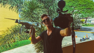HOW TO VLOG | CAMERA REVIEW | DRONE & 7D | VLOG 45