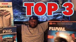 Top 3 Best Aquarium Filters Ever!
