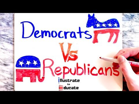 Democrats Vs Republicans | What is the difference between Democrats and Republicans?