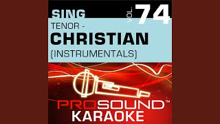 Stand (Karaoke With Background Vocals) (In the Style of Donnie McClurkin)