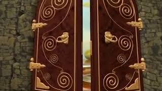 Футаж открывающаяся дверь
