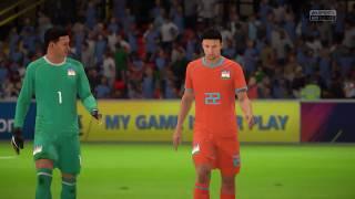 URUGUAY vs INDIA - FINAL FIFA World Cup 2018 - FIFA 18
