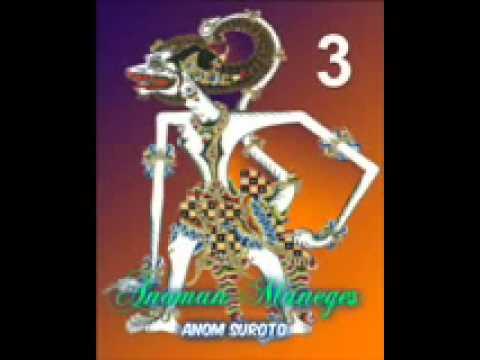 Wayang Kulit Dalang Kondang Anom Suroto Lakon ~ ANOMAN MANEGES Part 38
