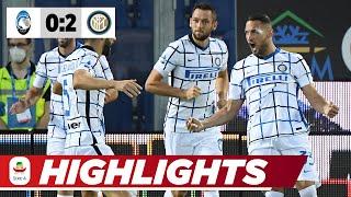 Inter Vize-Meister: Blitz-Tor & Young-Schlenzer | Atalanta - Inter Mailand 0:2 | Highlights |Serie A