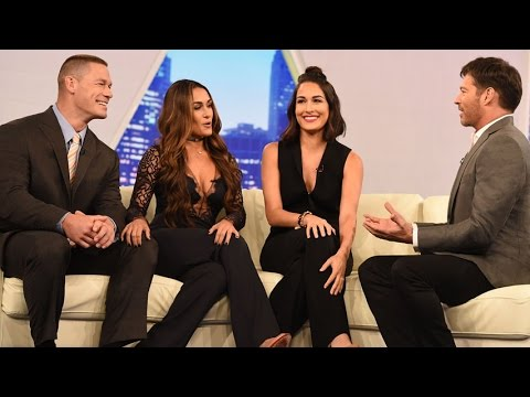 "John Cena & The Bella Twins Are Pumped For ""Total Bellas"""