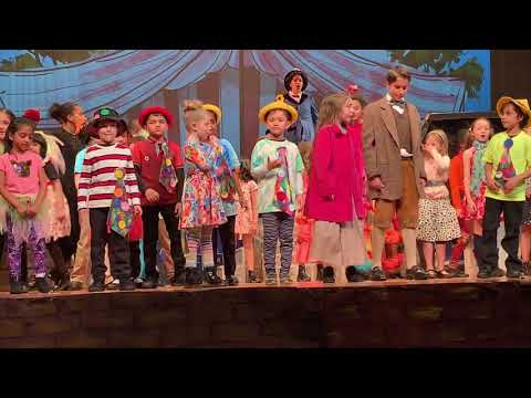 Brooke's School Play - Waterfront Montessori's Mary Poppins Jr. - Supercalifragilisticexpialidocious