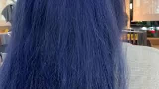 블루 염색하기 여름여름~~우후~~여름휴가준비..시원한컬…