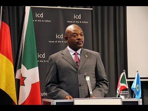 Bizimana, Ambassador of the Republic of Burundi