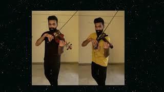 Sahana Saral | Sivaji | A R Rahman | Duet Violin Cover | Manoj Kumar - Violinist