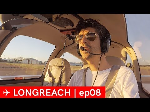 Go around and VFR flight following 6 hour flight - Longreach EP08