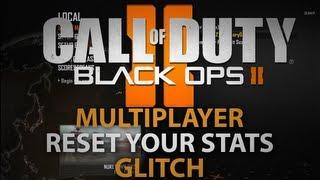 Black Ops 2 - How To Reset Stats Online (No Token) No Longer Working