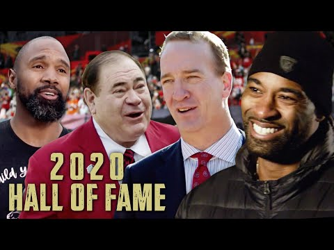 Peyton Manning & 2020 HOF Class Find Out They Are Hall of Famers