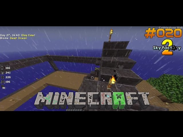 Let's Play Minecraft Sky-Factory 2 | Die Dach-Bau-AG | Folge #020