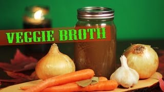 Veggie Broth Recipe | The Vegan Zombie