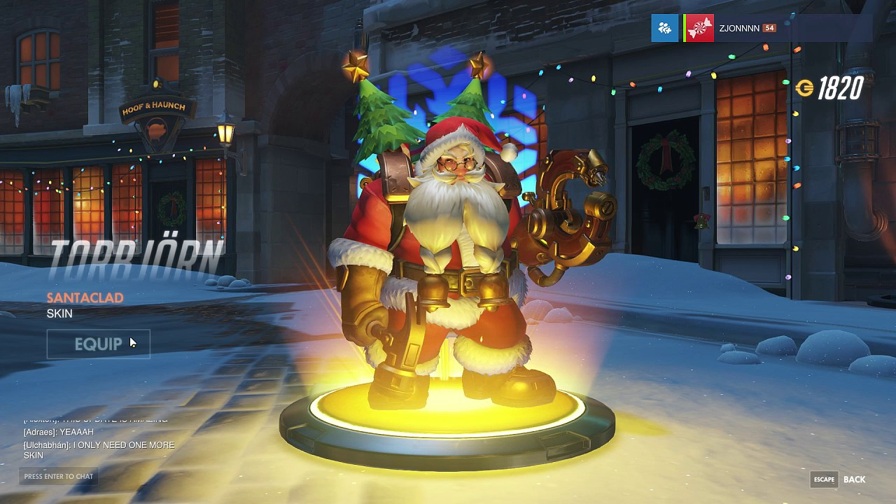 SANTA TORBJORN & MEI CHRISTMAS LOOT BOX OPENING - Overwatch - YouTube