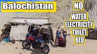 living with a local Pakistan Baloch family / Solo female biker's experience