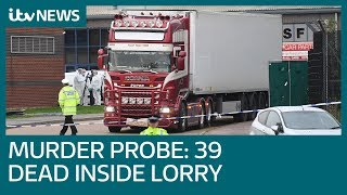 39 people found dead inside lorry in Essex | ITV News