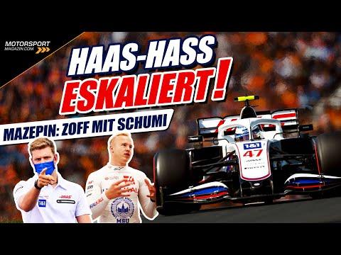 Haas-Hass eskaliert: Mazepin attackiert Schumacher!