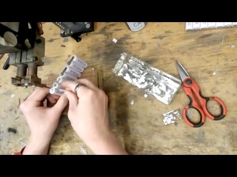 Making a DIY Tesla Battery - eSamba DIY EV conversion from YouTube · Duration:  6 minutes 39 seconds