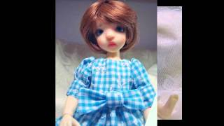 Blue Gingham And Lace Custom Made By  Louise.wmv