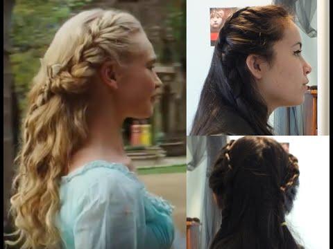 Hairstyle Movie : Disneys Cinderella Hair Tutorial - YouTube
