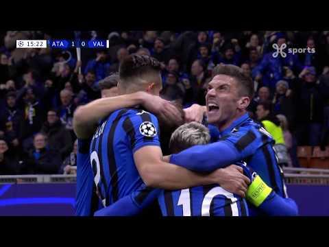 Champions League 19.02.2020 / Highlights Fr / Atalanta Bc – Valencia Cf