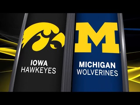 Big Ten Basketball Highlights - Iowa at Michigan