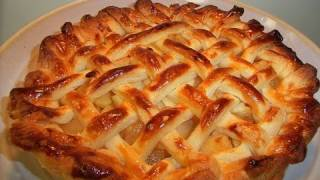 How to make Apple Pie in Japan アップルパイの作り方