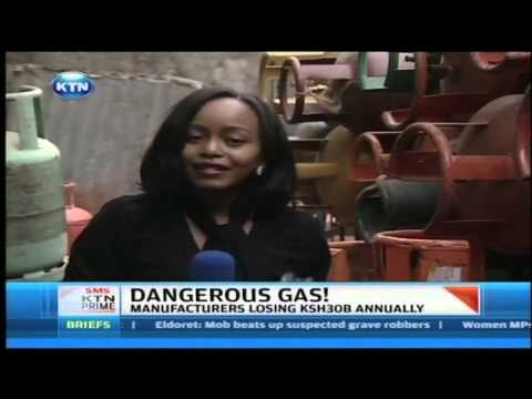Eastleigh gas vendor arrested for selling counterfeit LPG gas