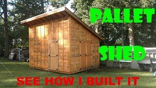 Pallet Shed / Workshop Build - Part 2