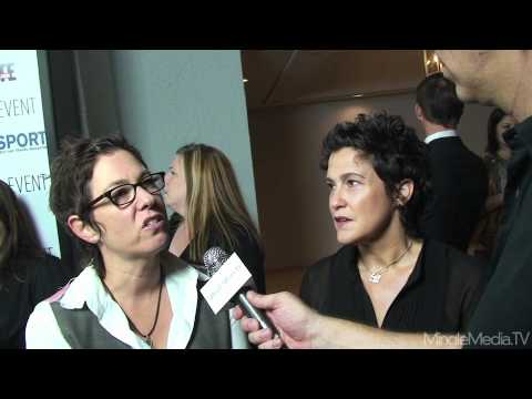 Lisa Cholodenko and Wendy Melvoin at the PFLAG LA Event 2010