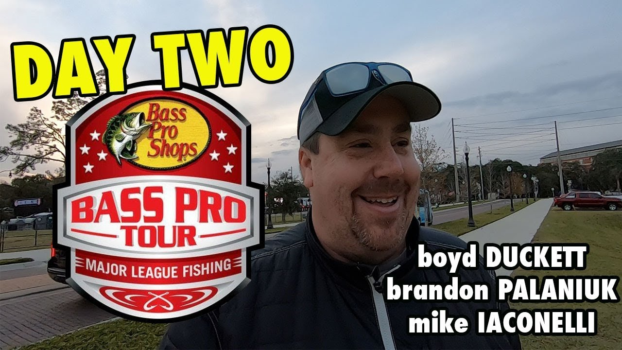 efae57042370d Major League Fishing Bass Pro Tour DAY TWO Weigh-in with Duckett ...