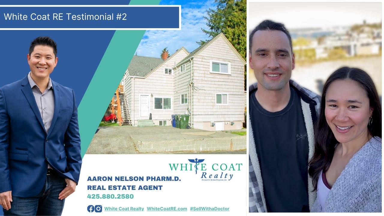 White Coat RE Testimonial #2 - Rob and Wei